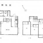 4LDK LDK13.7畳 全室東南向き (間取)