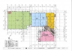 袖ヶ浦駅モール1階平面図