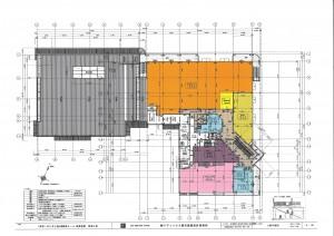 袖ヶ浦モール2階平面図