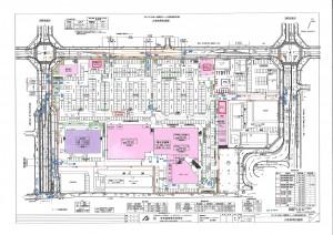 袖ヶ浦駅モール計画図