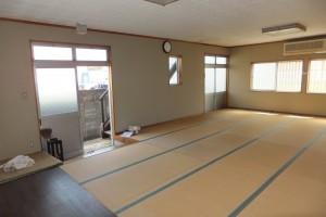 菅生和室から入口