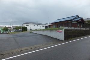 安田駐車場入口